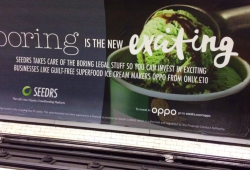 Spot Seedrs on the Tube or Overground and receive £10 to invest