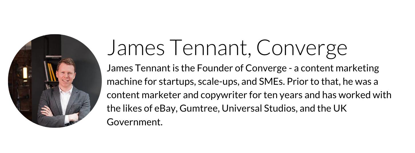 James Tennant Converge
