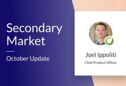 Secondary Market – October Update