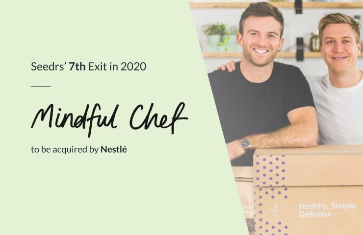 Mindful Chef to be acquired by Nestlé, marking Seedrs' 7th Exit in 2020
