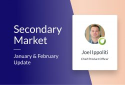 Secondary Market – Jan/Feb 2021 update