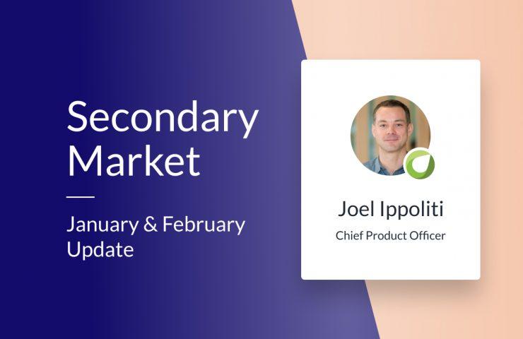 Secondary Market – Jan/Feb 2021 update